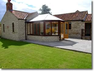 stables holiday cottage - outside